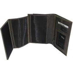 Petit portefeuille en cuir de marque Fuchsia FUCHSIA - 2