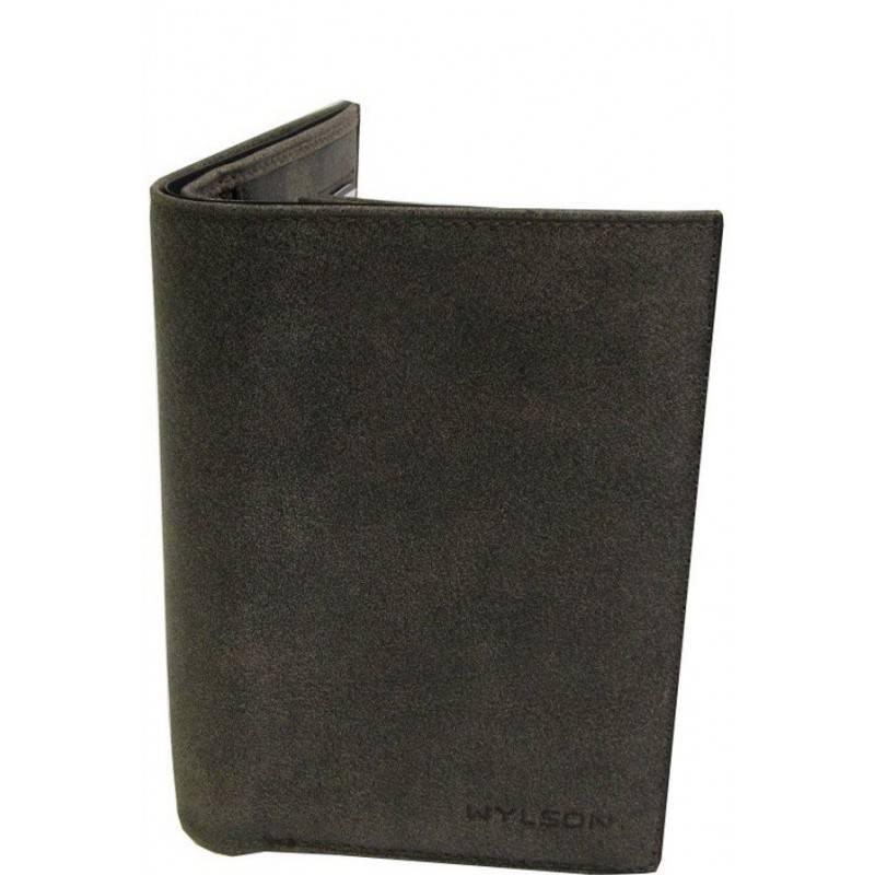 Petit portefeuille en cuir de marque Fuchsia FUCHSIA - 1