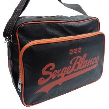 Gibecière de marque Serge Blanco noir et orange eig13019 SERGE BLANCO - 1