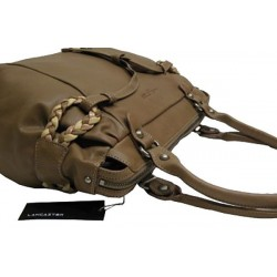 Sac à main fantaisie et de marque Lancaster réalisé en cuir de vachette 572-17 LANCASTER - 6