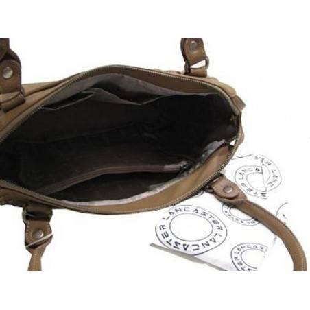 Sac à main fantaisie et de marque Lancaster réalisé en cuir de vachette 572-17 LANCASTER - 7