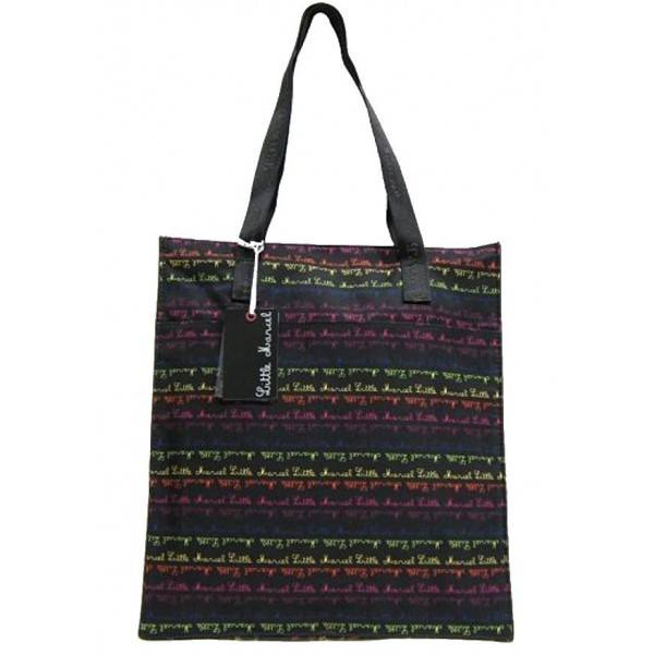 sac cabas de marque little marcel multicolore. Black Bedroom Furniture Sets. Home Design Ideas