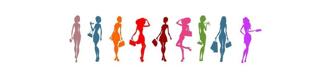 Porte-monnaie pour femme de différentes tailles